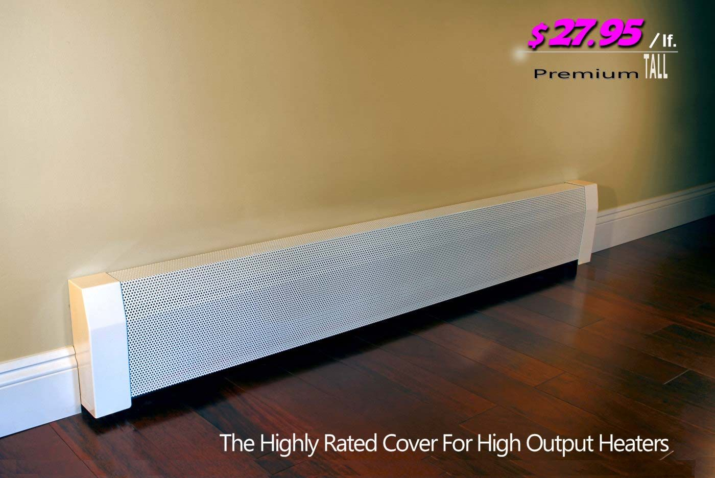 Baseboard Heater Covers Shipped To You Direct Diy Installation Baseboard Heater Covers Baseboard Heater Heater Cover