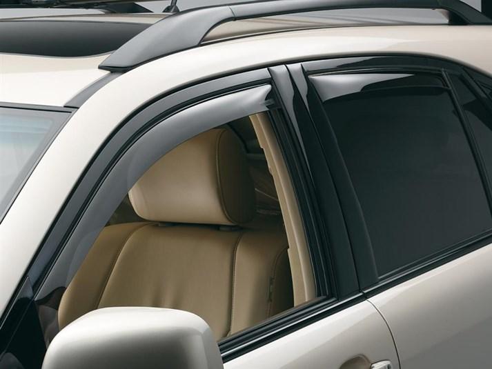 2008 Lexus Rx Rain Guards Side Window Deflectors For Cars Trucks Suvs And Minivans Weathertech Window Deflectors Mini Van Side Window