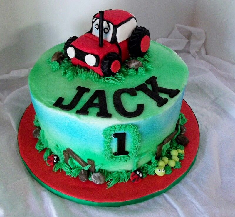 For Keatons Birthday But The Tractor Needs To Be Green