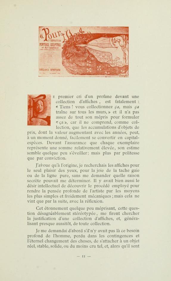 L'affiche belge; essai critique, biographie des...