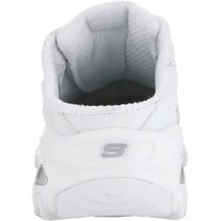 Photo of Skechers, D'Lites Bright sky Sabot with Air Cooled Memory Foam, white Skechers