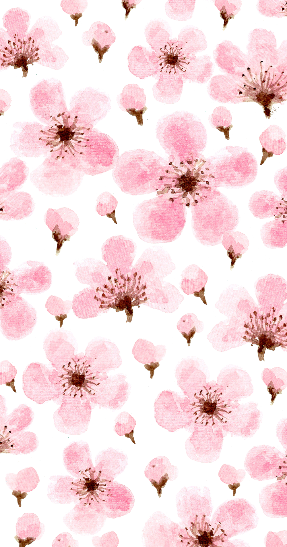 Cool Wallpaper Cny Ideas Art Floral Pink Flowers Wallpaper Drawing Wallpaper Iphone Wallpaper