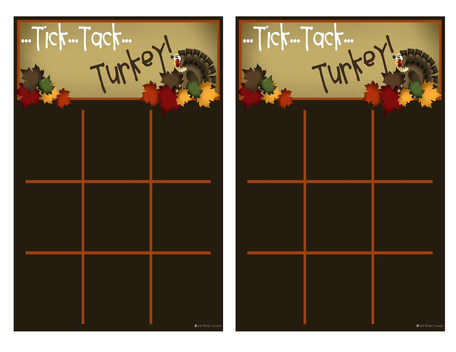 Tick Tack Turkey