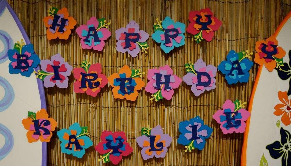 Lilo Stitch Luau Birthday Party Ideas In 2019 10th Birthday