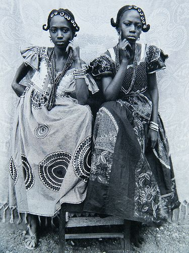 Seydou Keïta (born 1921 in Bamako, Mali — d. 21 November 2001 in Paris, France) was a self-taught portrait photographer from Bamako. He is mostly known for his portraits of people and families he took between 1940 and the early 1960s and that are widely acknowledged not only as a record of Malian society but also as pieces of art.