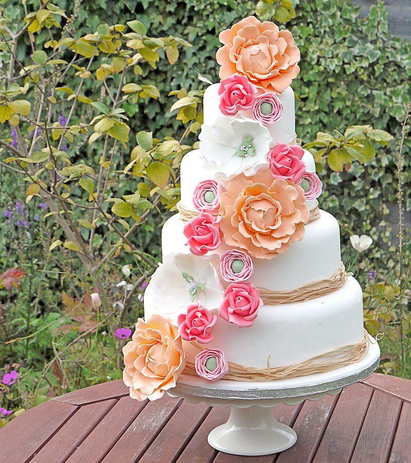 Unique Design Floral Wedding Cakes Ideas | Wedding Cake Design Ideas