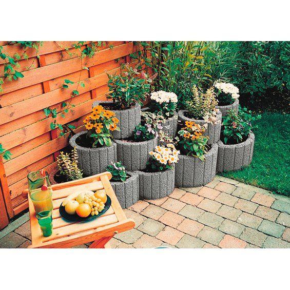 Pflanzring Klein Grau 35 Cm X 20 Cm Kaufen Bei Obi Pflanzen Pflanzideen Gartengestaltung Ideen