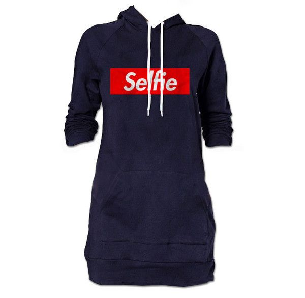 Hoodie Dress from DigitalThreads.co -- Why don't you take a selfie? It won't last longer. Our society is disposable. Our media is corruptible. Your opinion is their opinion. Buy this shit and you'll have a tag already built into your next picture. Socialize or else.  http://DigitalThreads.co