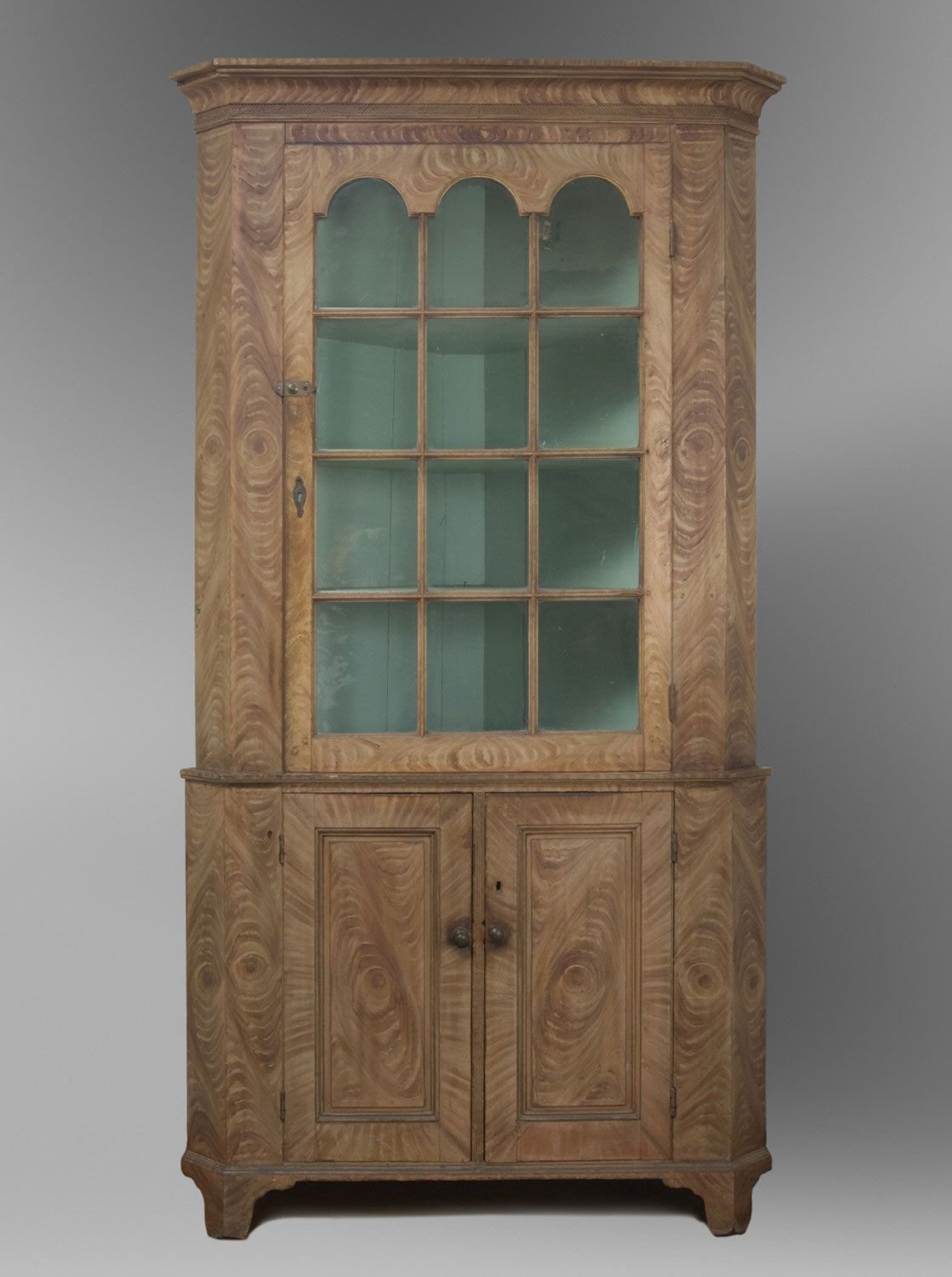 Philadelphia Museum Of Art Collections Object Corner Cupboard 1820 30 Furniture