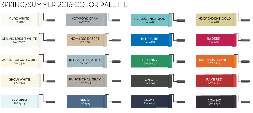 """Pottery Barn on Twitter: """"Add some color to your life! Check out our new Spring 2016 @SherwinWilliams color palette! https://t.co/ceNXVBDA3h https://t.co/XOP56Sub0J"""""""