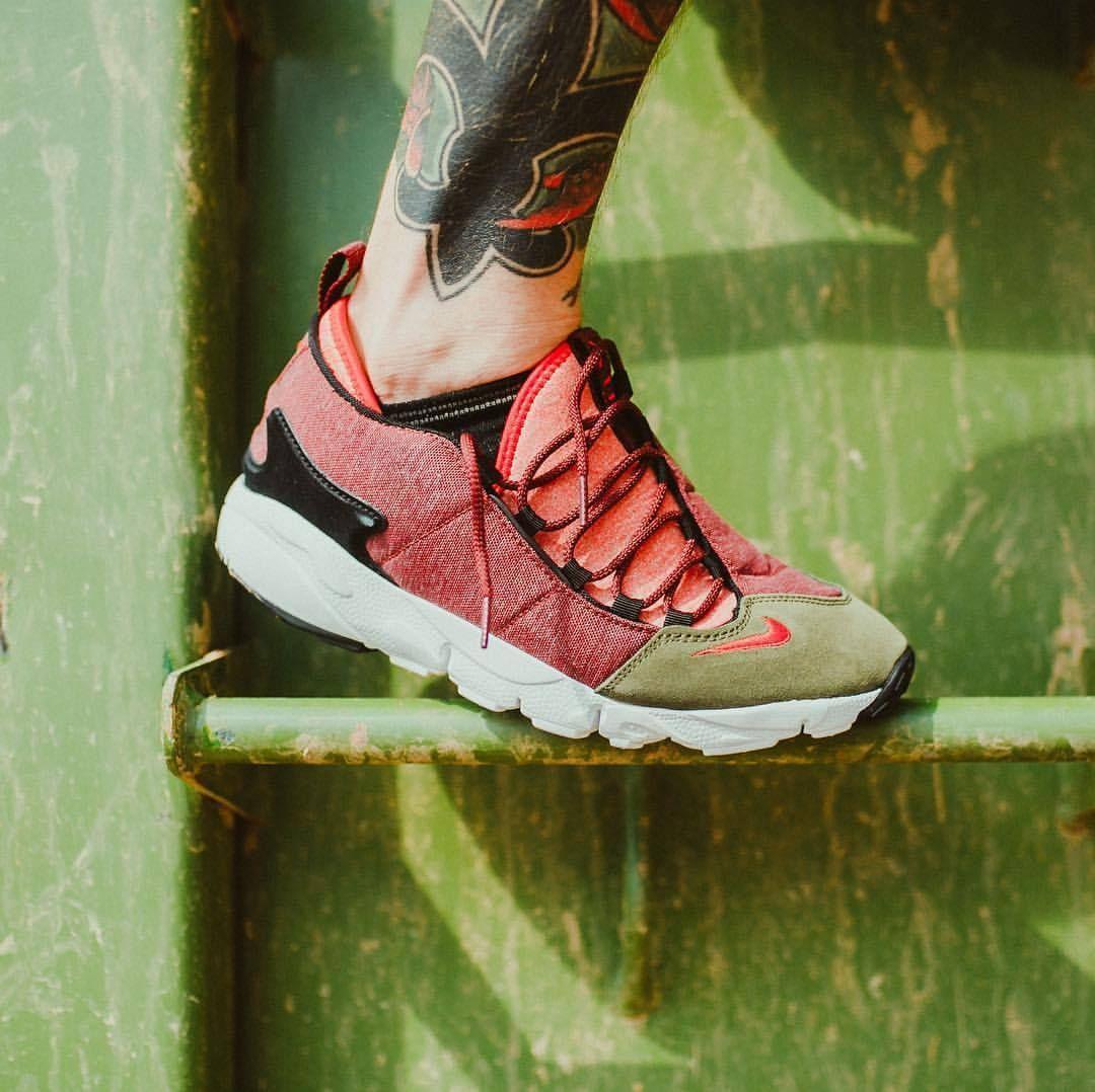 """Nike Air Footscape NM """"Dragon Red"""" (via"""