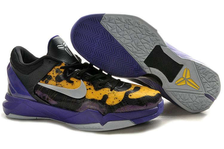 sale retailer 14a74 9e7d5 Kobe 7 Poison Dart Frog Lakers Court Purple Wolf Grey Black Tour Yellow  488371 500