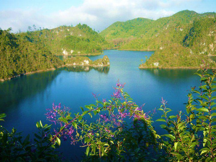 Lagunas de Montebello en Chiapas, México.
