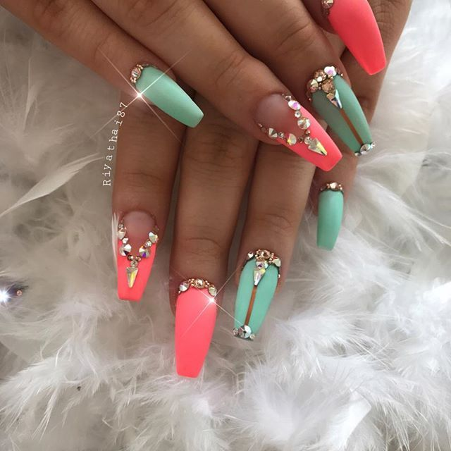 summercolor For the gorgeous #riyasnailsalon#NAILPRO #nailmagazine ...
