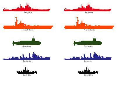 Printable Shooting Game Targets (battleship too!) Art Ideas