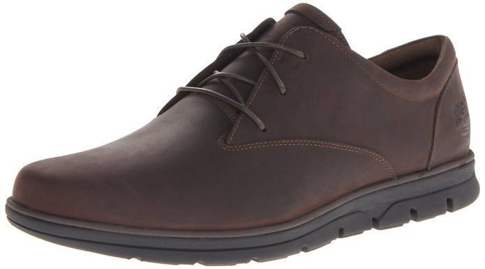 Timberland Men's Bradstreet Plain Toe Oxford,Dark Brown,11 M