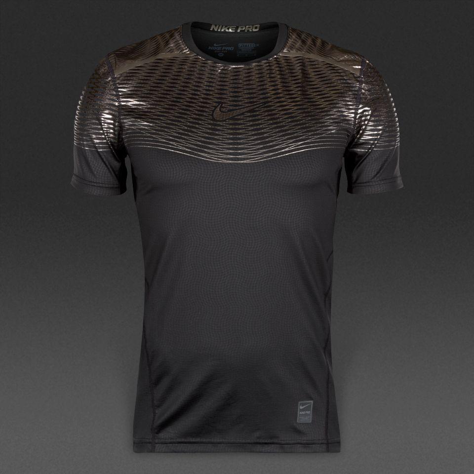 Camiseta Ajustada Nike 2019Sport Max Negrotitanio Hypercool En Y6gbf7y