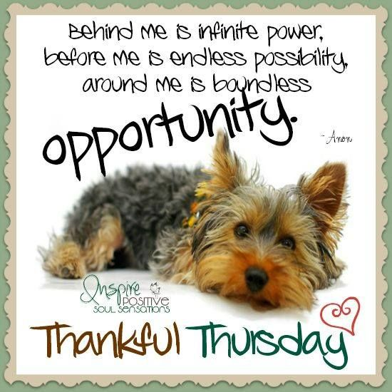 Thankful Thursday Inspirational Quote Pictures, Photos