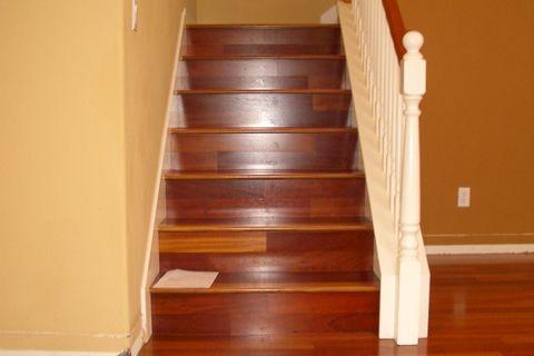 Best Brazilian Cherry Stairs Cherry Hardwood Flooring 400 x 300