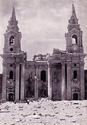 St Publius Church Floriana Malta 28th April 1942 At 7 50 A M