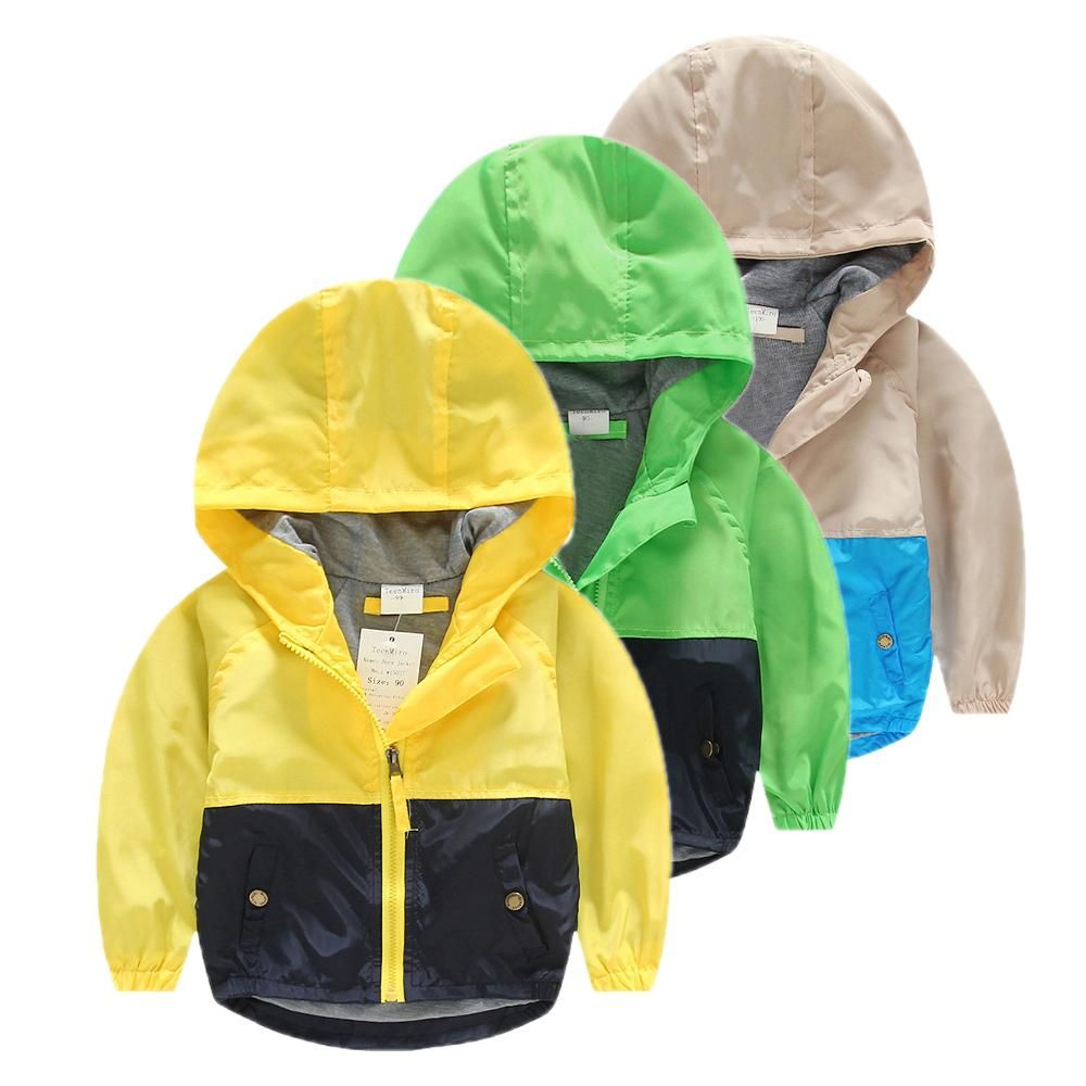 4293e3df1 Hooded Children Windbreaker Baby Spring jackets for Boys Jacket Coat Girls Clothes  Kids Outerwear Minnie Costume Toddler Blazer