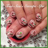 Photo of Christmas Design by TraiSeasEscape  Nail Art Gallery nailartgallery.na by Na
