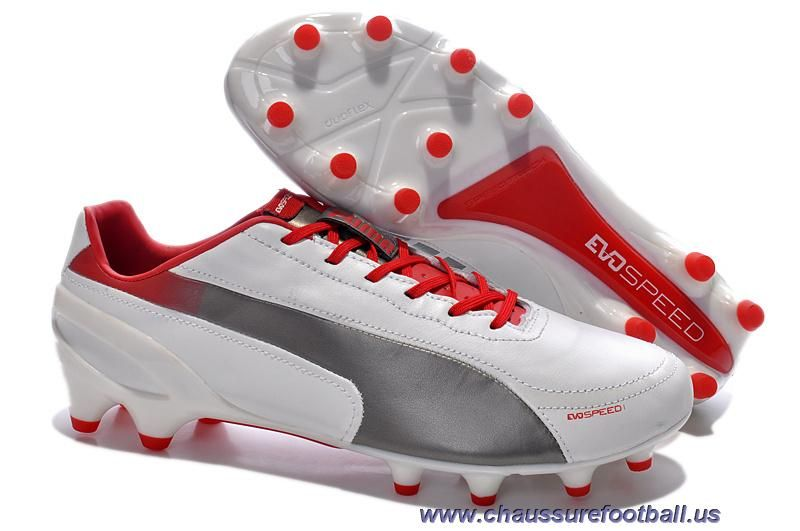 Chaud Puma evoSPEED 1.2 K FG Noir Gris Rouge FT717