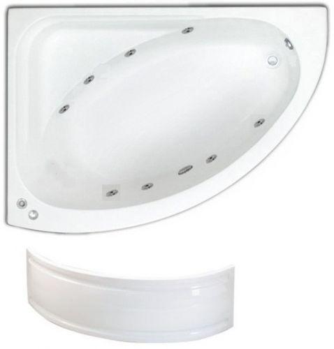 lh trojan orlando 8 jet whirlpool bath | corner jacuzzi whirlpool