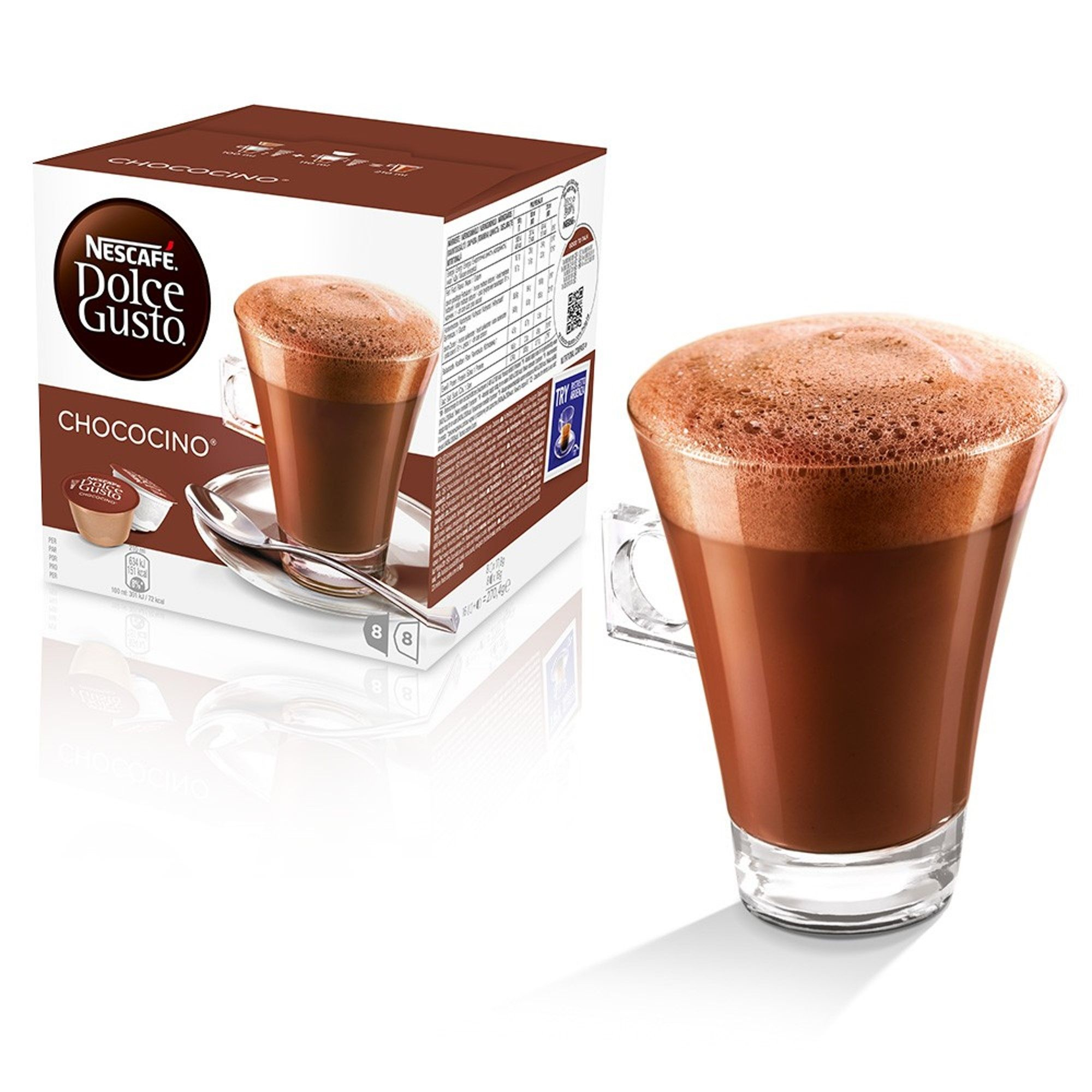 Nescafe Dolce Gusto Chococino Hot Chocolate Coffee Pods
