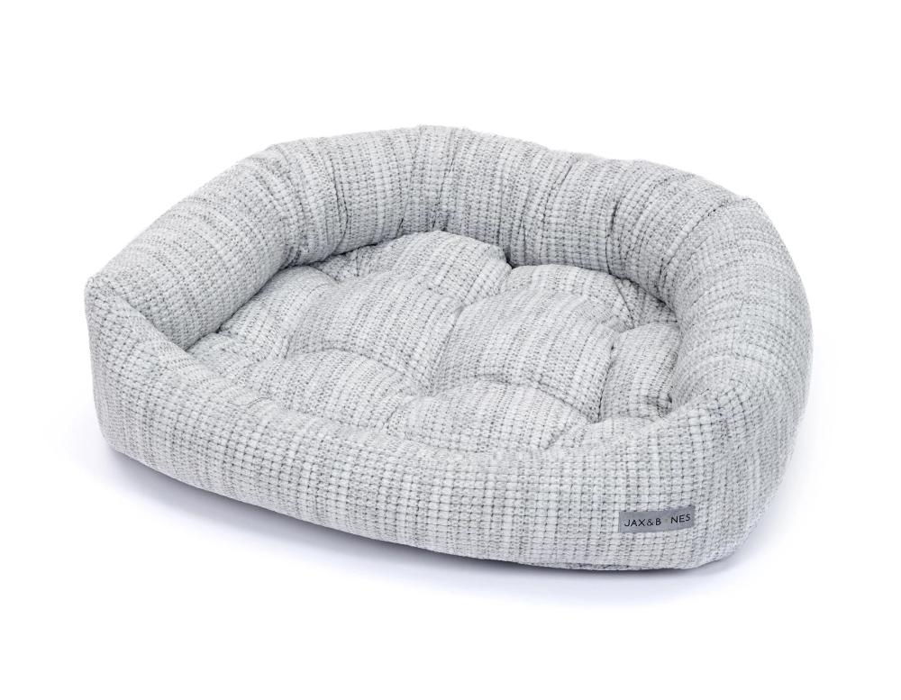 Torino Light Grey Napper Bed Napper Designer Dog Beds Dog Bed Luxury