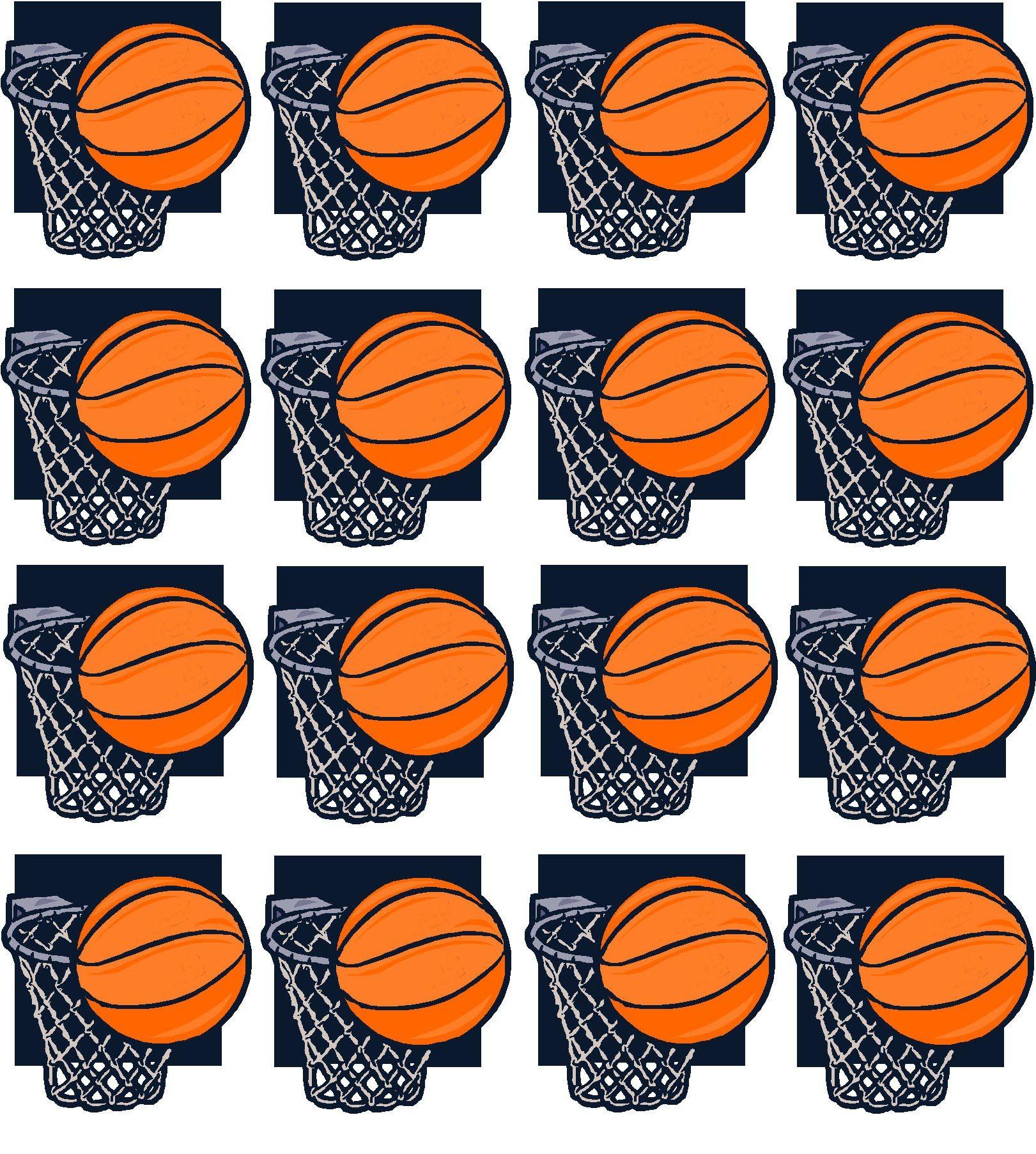 Basketball Printable Basketball Team Snacks Basketball Decorations Basketball Locker Decorations