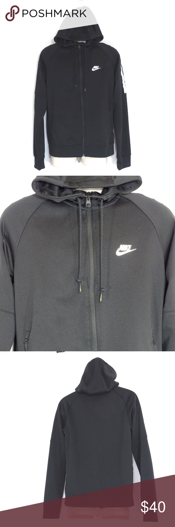 b66764c6a4e4 Nike Tribute Hooded Track Jacket Men Size M ITEM DESCRIPTION  Nike ...