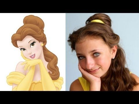 31 Disney Costume Tutorials You Have To Try This Halloween Belle Hairstyle Disney Hairstyles Disney Princess Hairstyles