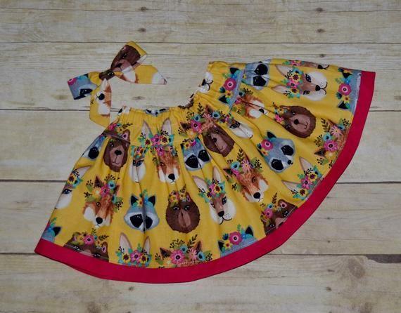 Fall Skirt Set, Woodland Animals, Twirl Skirt, Toddler Fall Skirt, Fall Clothing, Thanksgiving Skirt #twirlskirt