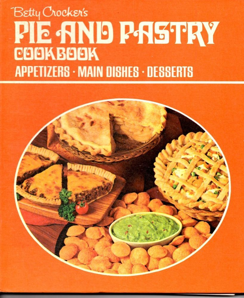 betty crocker pie and pastry cook book the vintage kitchen library rh pinterest com