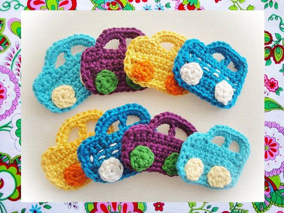Crochet Cars Pattern Wonderfulhands By Wonderfulhands On Etsy