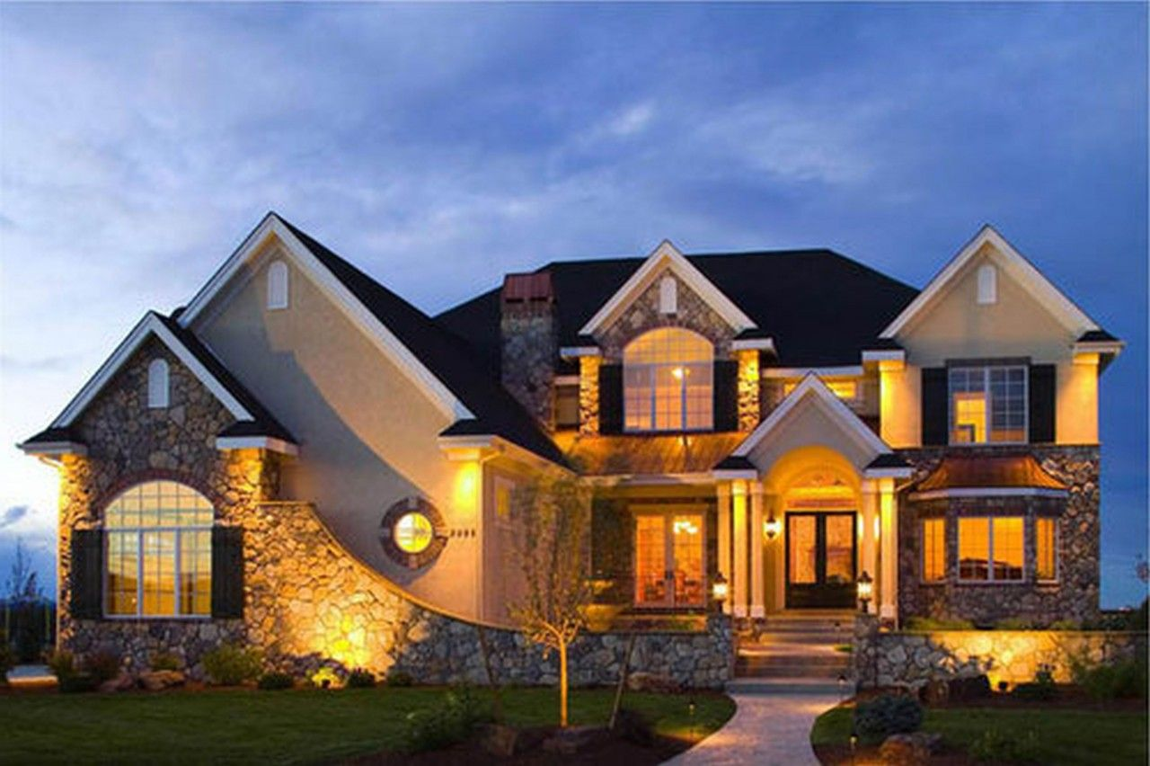 24 Photos And Inspiration Small Luxury House Plans living room list of things House Designer