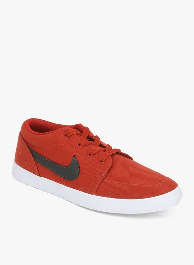 newest 97055 40080 Nike Voleio Cnvs Red Sneakers For Women - Jabong