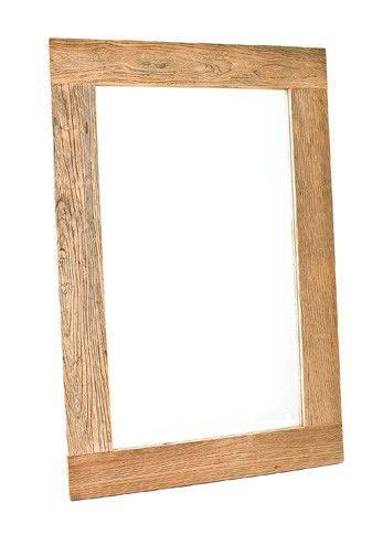 Zentique 40x60 Mirror Wood, 40 X 60 Wood Frame Mirror