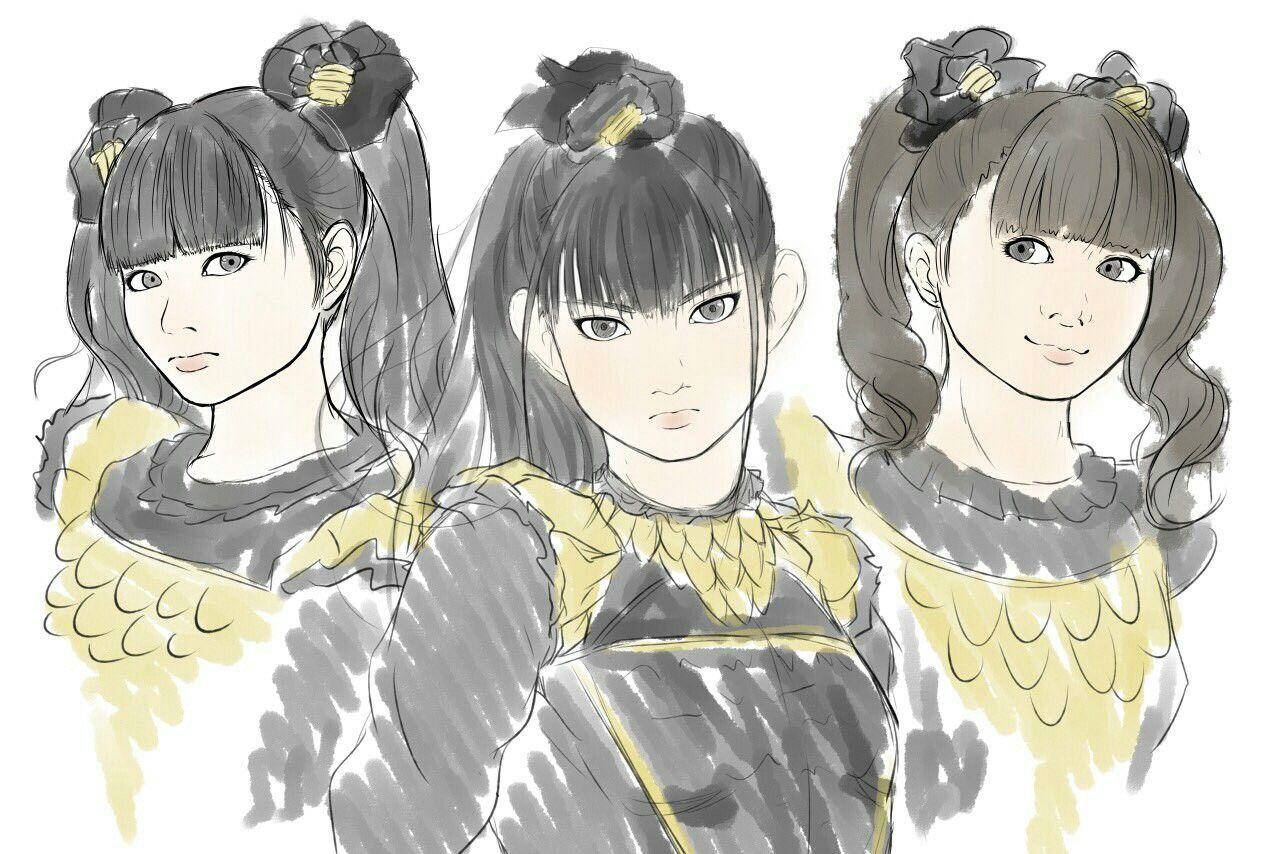 Pin by T Tamura on BABYMETAL Anime, Art, Illustration