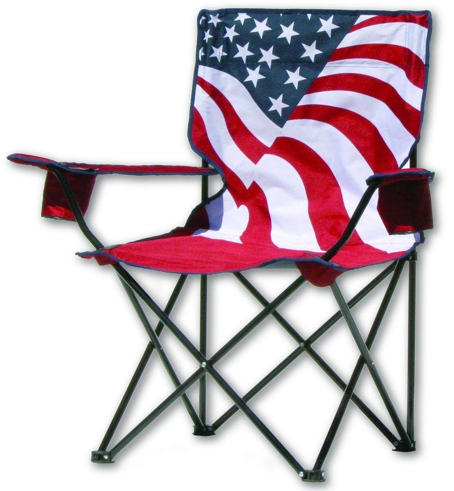 Top Quality Quik Chair Us Flag Folding Chair Beach Chair Folding Lightweight Quikchair Folding Armchair Camping Chairs Folding Chair