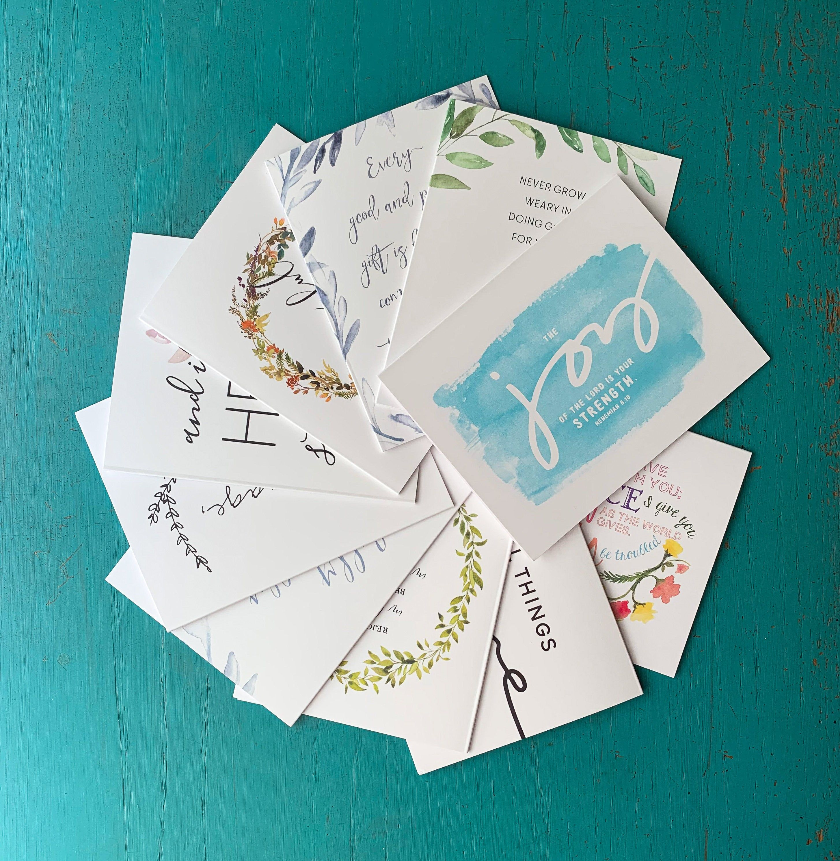 Assorted notecard set of 28 assorted stationery thank you