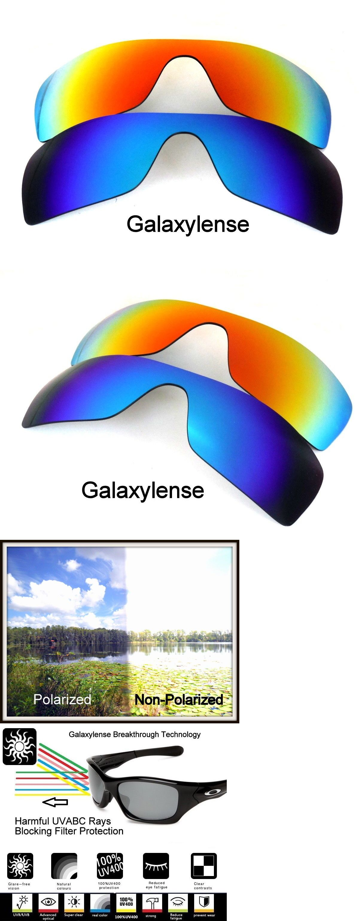 Replacement Lenses and Parts 179194  Galaxy Replacement Lenses For Oakley  Batwolf Blueandred Polarized 100%Uvab 2 Pairs -  BUY IT NOW ONLY   15.48 on   eBay ... fcd42fbdf677