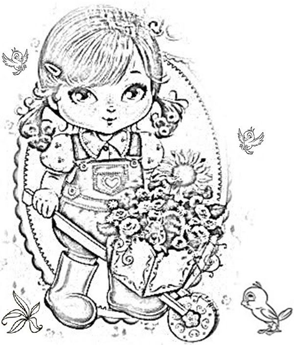 Desenho Da Jolie Tilibra Para Colorir Bmp 601 705 Desenhos