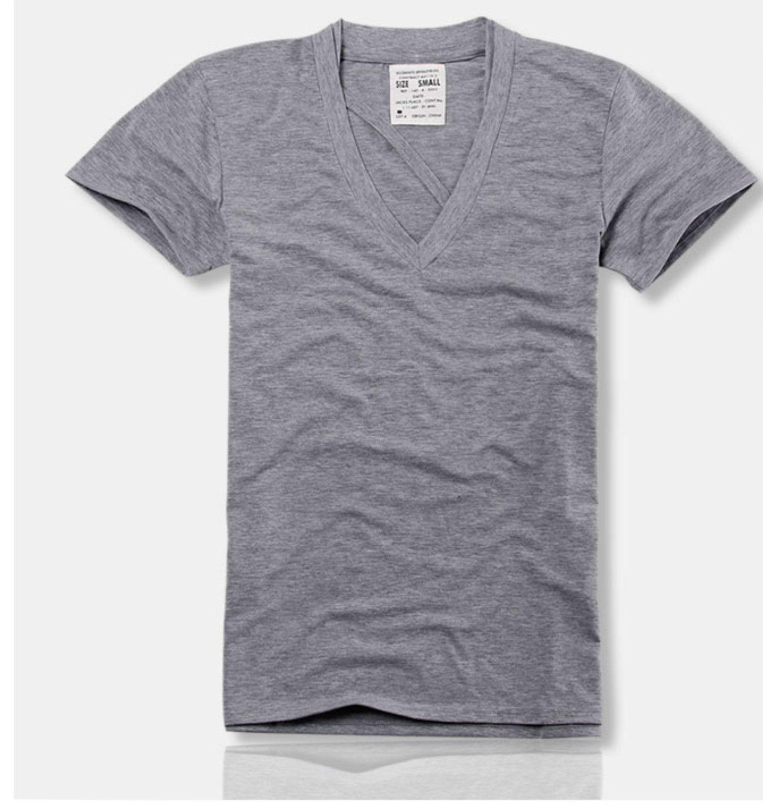 T shirt white ebay - All Saints Mens Cotton Lightweight V Neck T Shirt New L Ebay