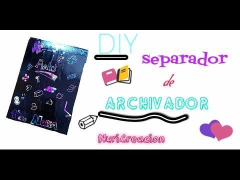 Separador ~ archivador ~ NuriCreacion ~