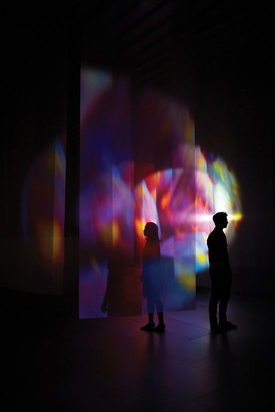 Spear to Heaven by Pipilotti Rist