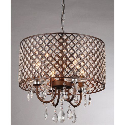 Alexia 4 light crystal chandelier lighting pinterest alexia 4 light crystal chandelier aloadofball Gallery