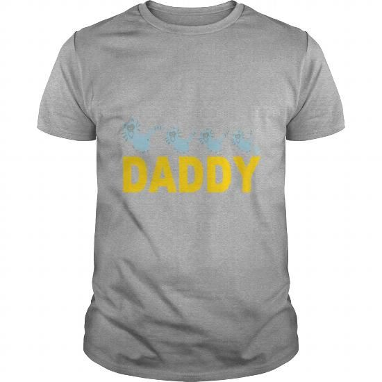 Daddy Dad Family Fun Shirt Cats Catpaw