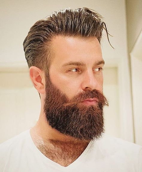 Hairstyles For Men With Beards Wulli  Wuuulli Visit Beardedlifestyle To Get Featured